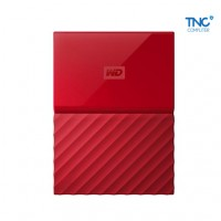 "HDD Western My Passport Ultra 1TB 2.5"" USB 3.0 Đỏ"