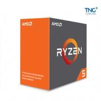 CPU AMD Ryzen 5 2600X 3.6 GHz / 19MB / 6 cores 12 threads / socket AM4