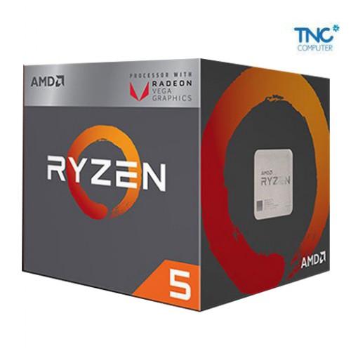 CPU AMD Ryzen™ 5 2400G 4 Cores 8 Threads 3.6 GHz