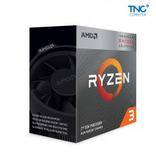CPU AMD Ryzen 3 3200G 3.6 GHz (4.0 GHz with boost) / 6MB / 4 cores 4 threads