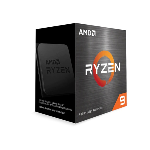 CPU AMD Ryzen 9 5900X 3.7 GHz (4.8GHz Max Boost)/ 70MB Cache/ 12C24T/ 105W/ Socket AM4