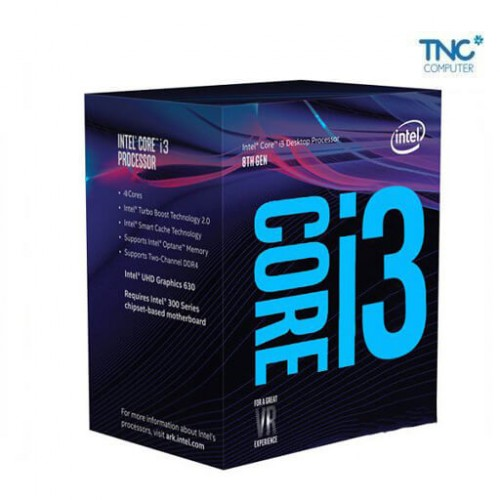 CPU Intel Core i3-8350K 4Ghz / 8MB / 4 Cores, 4 Threads