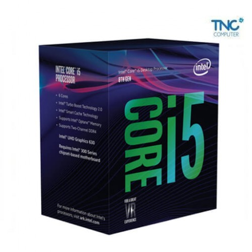 CPU Intel Core i5 8500 3.0Ghz Turbo Up to 4,1Ghz / 9MB /6 Cores, 6 Thread