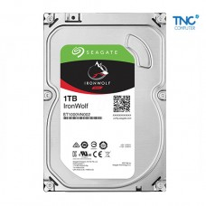 Ổ cứng HDD Seagate IRONWOLF NAS 1TB/5900,Sata3,64MB Cache