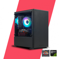 Gaming PC - Glacier Streaming 1650s - R3 3100/ A320M/ 16GB/ 120GB/ GTX 1650s/ 450W