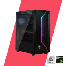 Gaming PC - Glacier 1650 Super Powered By MSI - i3 10100F / B460M/ 8GB/ 256GB/ GTX 1650 Super/ 450W