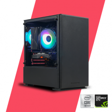 Gaming PC Glacier 1650 Super - i3 10105F/ B460/ 8GB/ 120GB SSD/ GTX 1650 Super 4G/ 450w