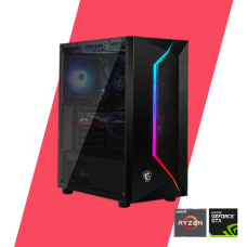 Gaming PC - Sniper 1660 Super Powered By MSI - R5 3600/ B450M/ 8GB/ 256GB/ GTX 1660 Super/ 550W