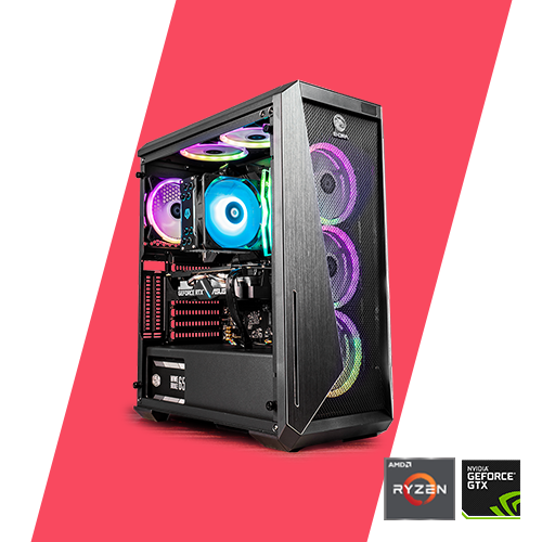 Gaming PC - Sniper 1660 Super R3 3100/ A320/ 8GB/ 120GB/ GTX 1660 Super/ 450W