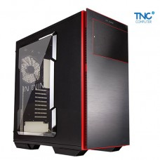 Vỏ Case IN WIN 707 Black Red Aluminium Windowed