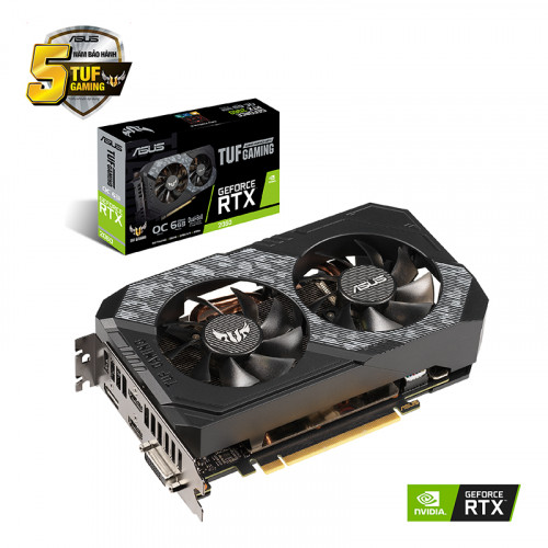 Card Màn Hình ASUS TUF GeForce RTX 2060 O6G Gaming
