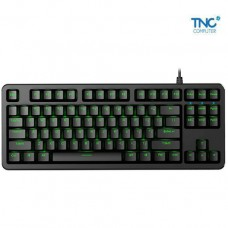 Keyboard Fuhlen G87S Mechanical Cherry Blue Switch 87 Black