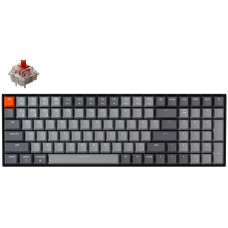 Bàn phím cơ Bluetooth Keychron K4 Nhựa Led White Gateron Red Switch - A1 (Ver.2)