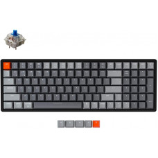 Bàn phím cơ Bluetooth Keychron K4 Led RGB Aluminum Ver 2 Gateron Blue Switch - C2