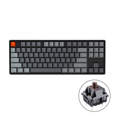 Bàn phím cơ Bluetooth Keychron K8 Led RGB Aluminum - HotSwap - Brown Switch (J3)