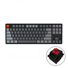 Bàn phím cơ Bluetooth Keychron K8 Led RGB Aluminum - HotSwap - Red Switch (J1)