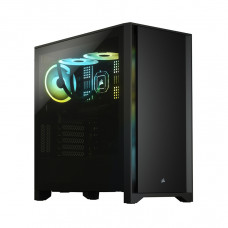 Vỏ Case Corsair 4000D TG Black