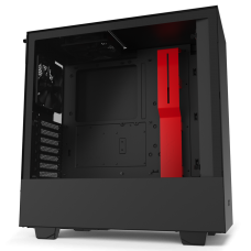 Vỏ Case NZXT H510 Matte Black/Red