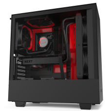 Vỏ Case NZXT H510i Matte Black Red