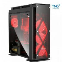 Case Segotep T5 Steel & Tempered Glass (Full Tower)