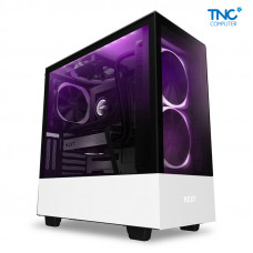 Vỏ case NZXT H510 Elite Matte White