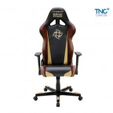 Ghế DXRACER R series RE126/NCC/NIP - đen/nâu/vàng