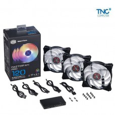 Kit Fan Masterfan MFP120 AB RGB 3 in 1 with Controller