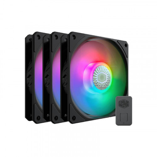 Bộ 3 Quạt Tản Nhiệt Cooler Master SICKLEFLOW 120 ARGB 3IN1