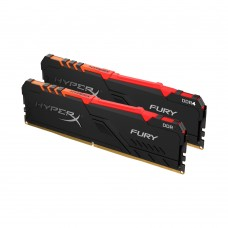 RAM Kingston HyperX Fury Black RGB 16GB/3200Mhz (8GBx2)