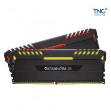 RAM Corsair VENGEANCE RGB 16GB (2 x 8GB) DDR4 DRAM 2666MHz