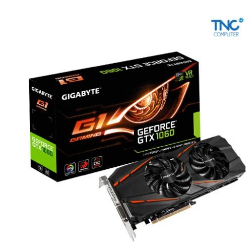 VGA GIGABYTE GV N1060 G1 GAMING 3GD
