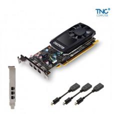 VGA NVIDIA QUADRO P400 2GB DDR5