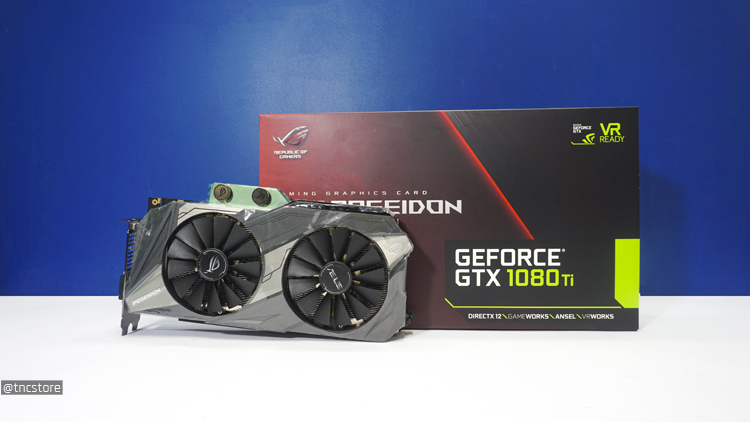 ... thì ASUS đã mang tới một trong những VGA GTX 1080ti mạnh nhất trên thị  trường vào thời điểm hiện tại đó chính là VGA ASUS Poseidon GeForce GTX 1080  Ti