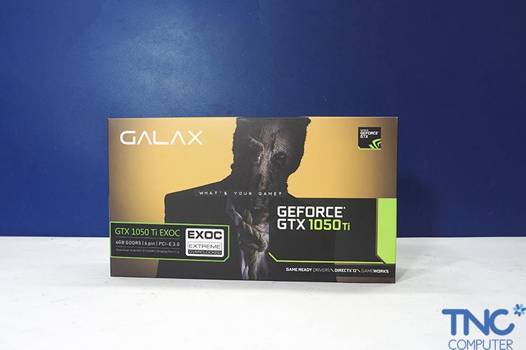 Khác với hai sản phẩm trên, Galax đã lựa chọn một thiết kế hộp sản phẩm khá  mới lạ, đó là chiếc hộp có hình chữ nhật dài.